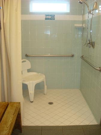 Pioneer Beach Resort: accessible bathroom