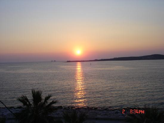 Sonnenuntergang Panta Rei