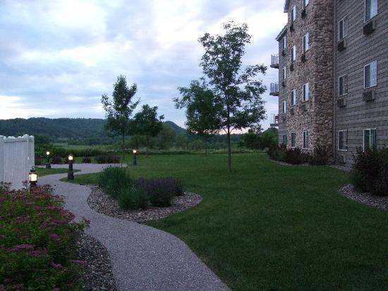 Stoney Creek Hotel & Conference Center - La Crosse: View from banquet room/pool area