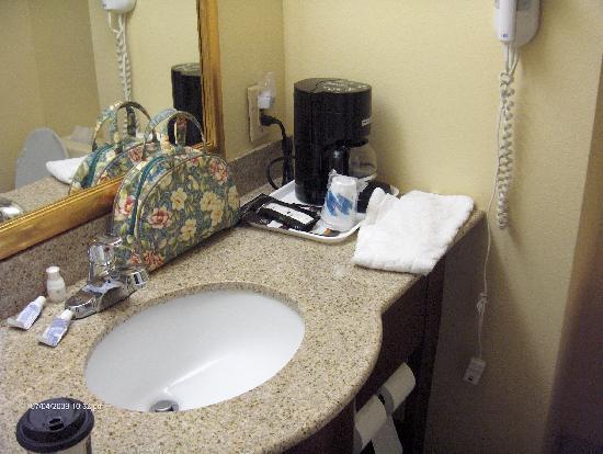 La Quinta Inn Waldorf: nice bathroom