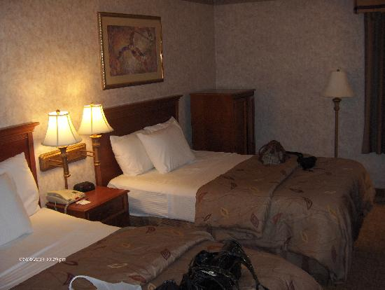 La Quinta Inn Waldorf: nice room and beds!