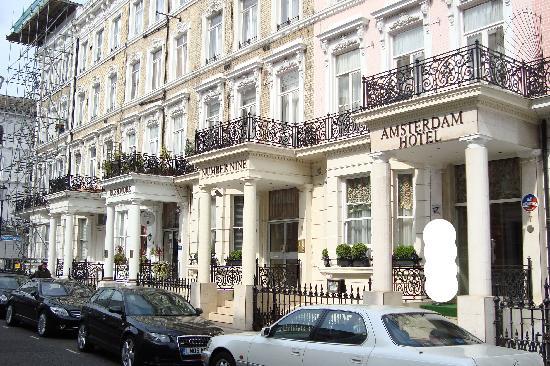 Barrio picture of amsterdam hotel london tripadvisor for Amsterdam hotel londra