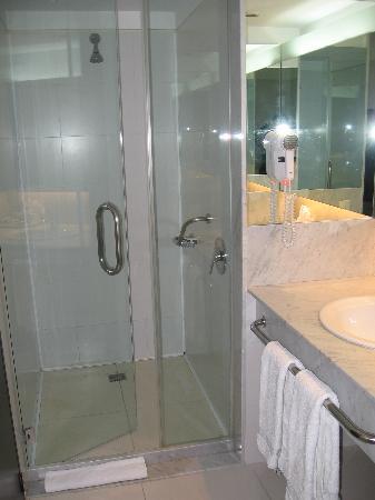 wonderful walk-in shower stall with good water pressure - Picture of ...
