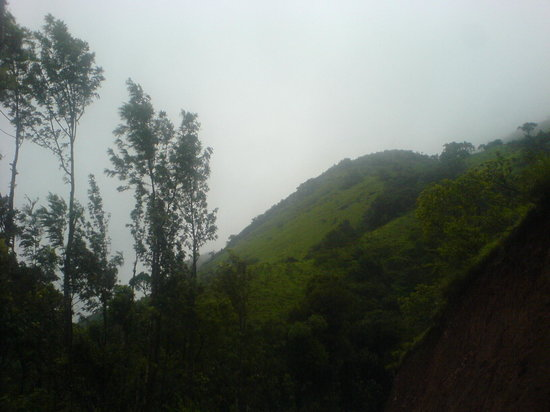 Chikmagalur, Indien: Lovely sceneries