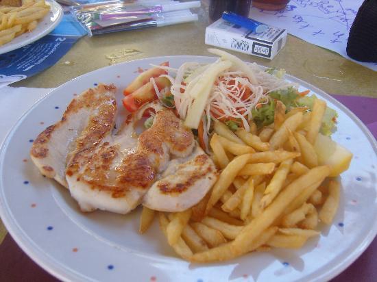 Zafiro Menorca: Lunch again