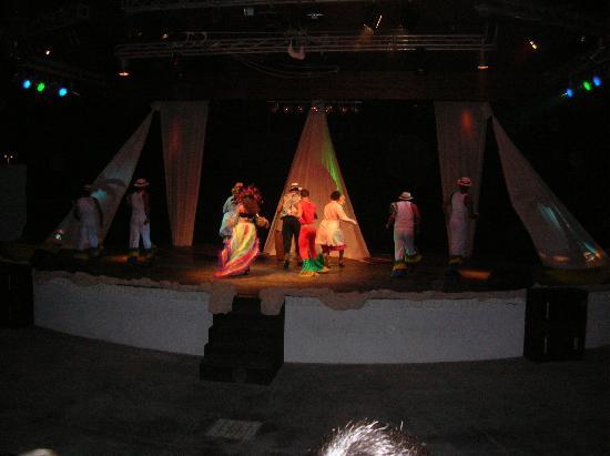 Torreserena Village: Uno spettacolo serale.