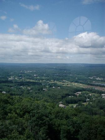 Talcott Mountain State Park: View from the top