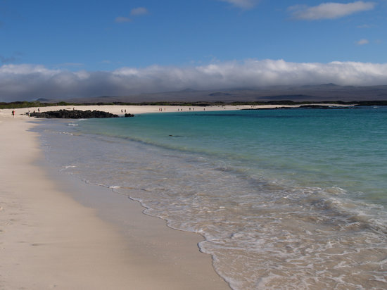 Isole Galapagos, Ecuador: Wizard Hill beach on San Cristobal Island