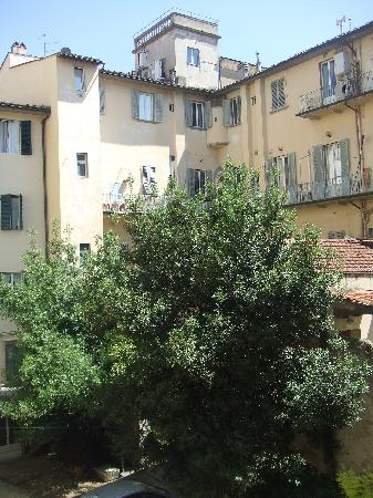 Delle Camelie: view from our balcony in room #1