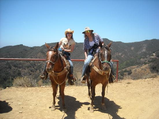 Horseback ride picture of captain jack s santa barbara tours santa