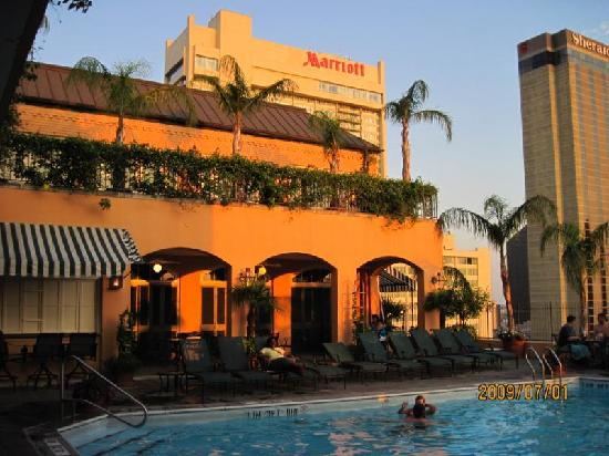 Rooftop Pool Picture Of Hotel Monteleone New Orleans
