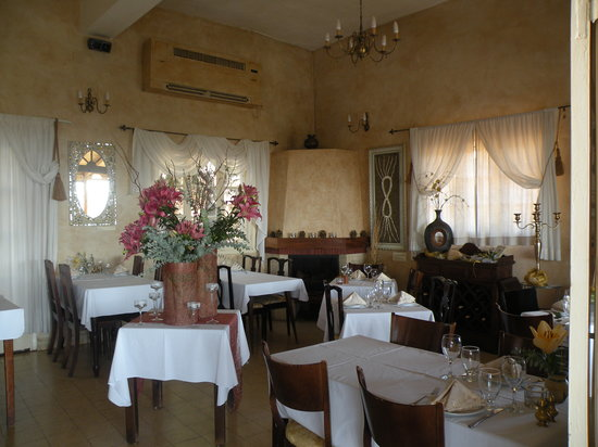 Auberge Shulamit: Dining Room