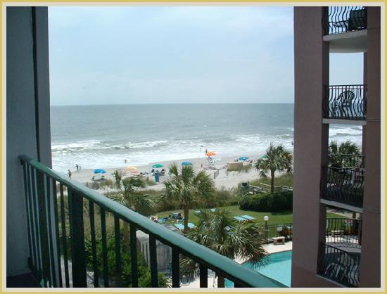 Carnival Inn & Suite @ The Beach: Our Side Ocean View