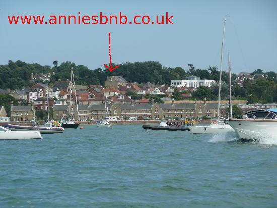 Annie's B&B across the harbour