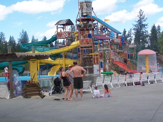 Silverwood Theme Park Also Has An Excellent Waterpark Called Boulder Beach With 2