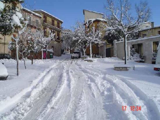 Santa Croce del Sannio - Neve