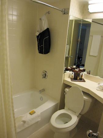 Tampa Airport Marriott : Salle de bain