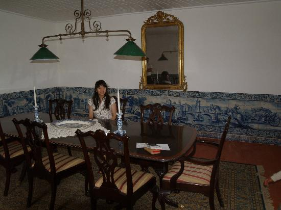 Quinta do Scoto: Private dining room - great original tiles