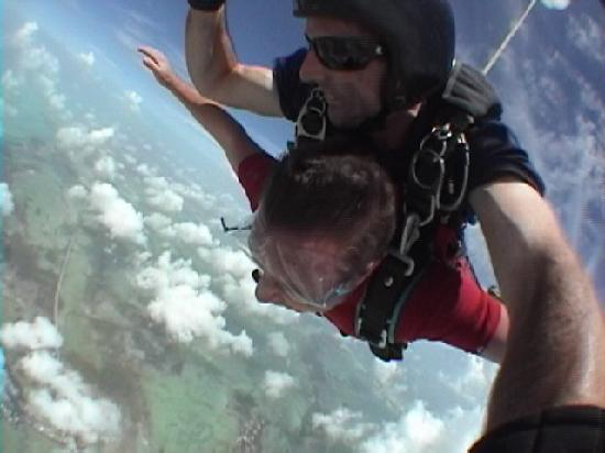 Skydive Key West: Free Fall