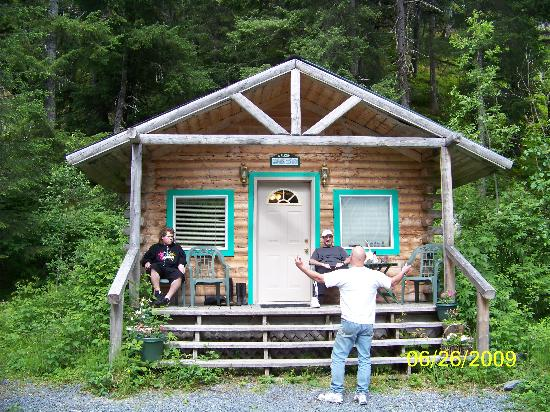 "Allens Alaska Adventures: Joe and us just ""shooting the bull"""