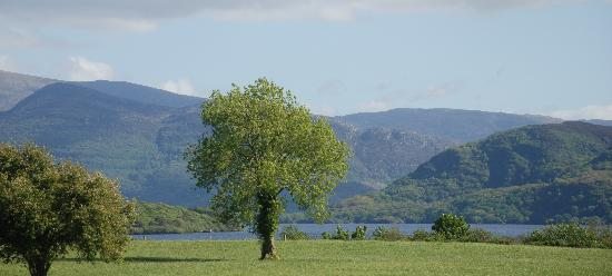 Loch Lein Country House : View from the Hotel