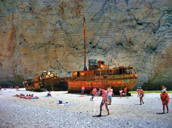 Playa Navagio: Navagio Beach (Shipwreck Beach)