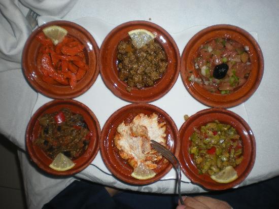 Maamoura Hotel : Salad