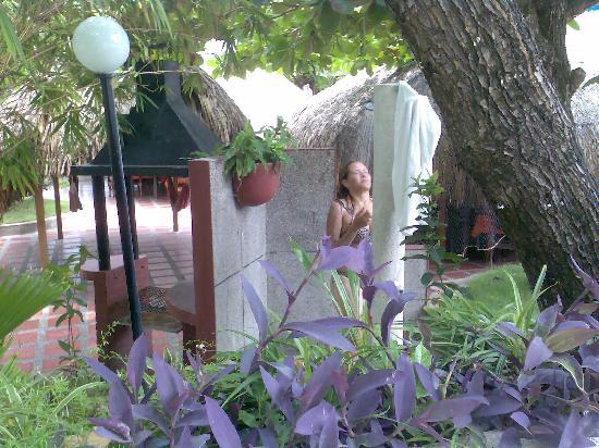 Hotel Bahia: Y luegola ducha