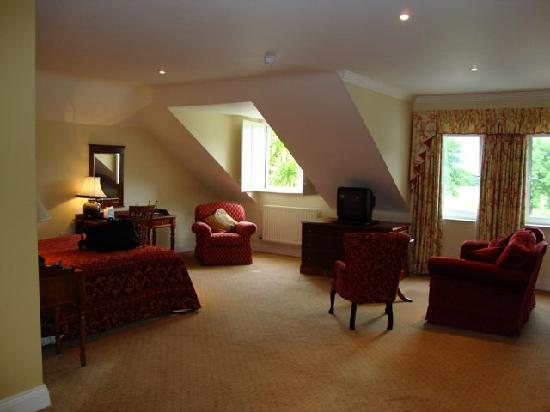 Loch Lein Country House : Our gorgeous, huge room