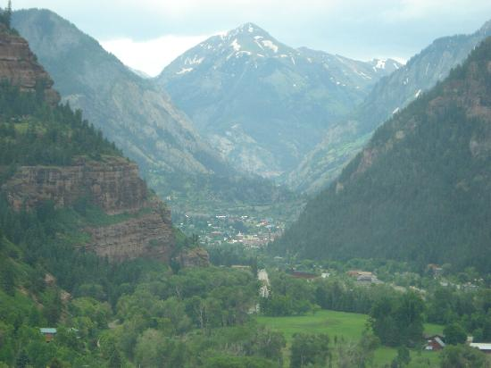 Comfort Inn: Ouray from the north