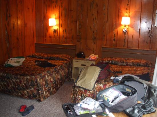 Willow Creek, Kalifornia: My room at the Bigfoot Motel