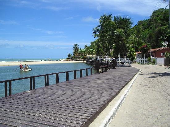 Morada dos Ventos: playa