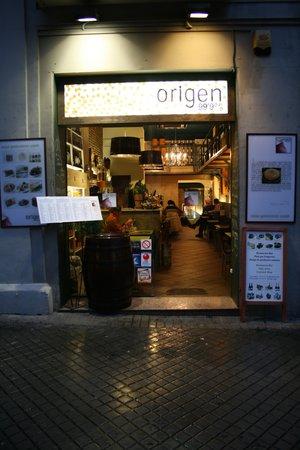 Origen 99,9% : Vista exterior
