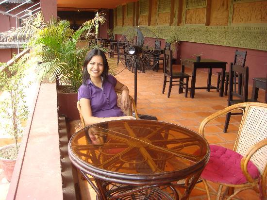 Angkor Spirit Palace: The restaurant.