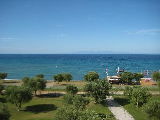 Xenios Anastasia Resort & Spa: View from our balcony