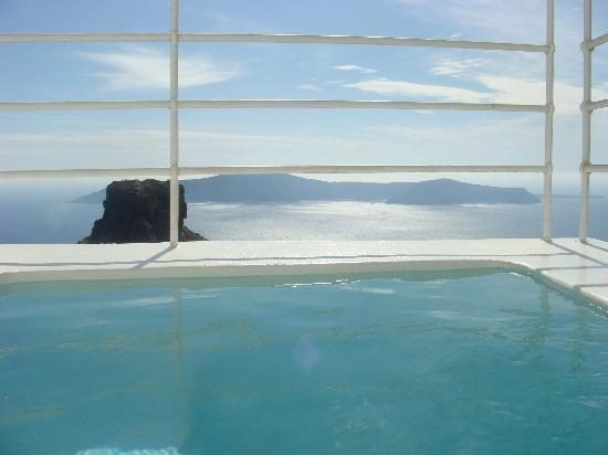 Grace Santorini Hotel: room with a view