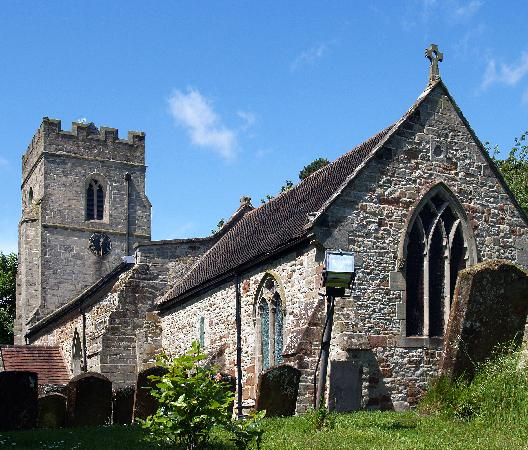 Warwickshire, UK: The church at Offchurch, believed to be the final resting place of King Offa (of the Dyke fame)