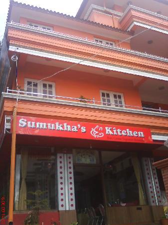 Hotel Silver Oak: Sumukha's Entrance