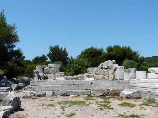 Ramnous Archaeological Site: Tempel