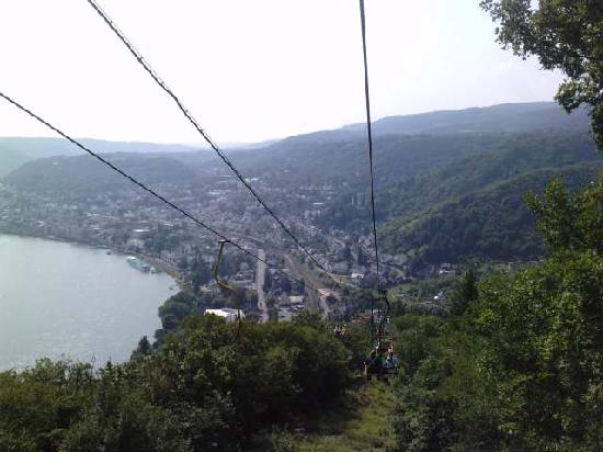 Hotel L'Europe: on the cable cars