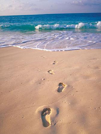 Dana Point, Kalifornien: Your Footprints in the Sand