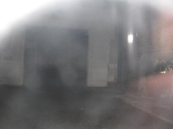 Hearse Ghost Tours: Strange apparition outside haunted house