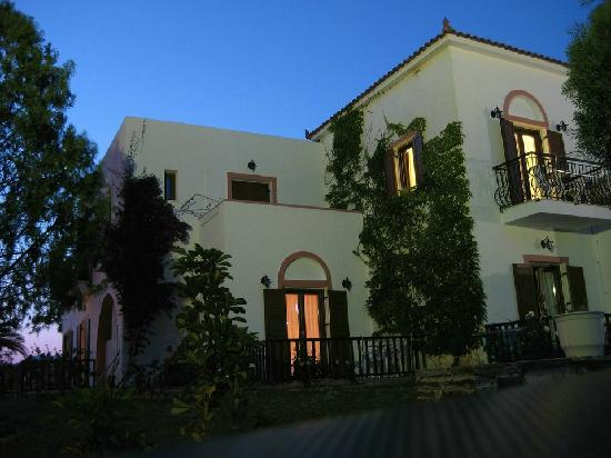 Castello Rosso Hotel: Abend wird - Ruhe kehrt ein ...