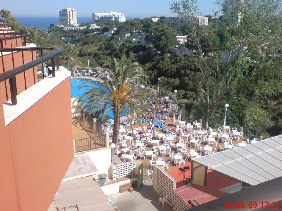 view from our balcony - Picture of HSM Canarios Park, Calas de Majorca - TripAdvisor