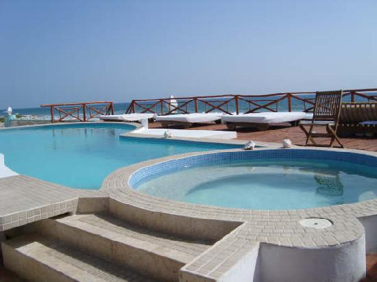 Casa Ixchel: Pool and whirpool