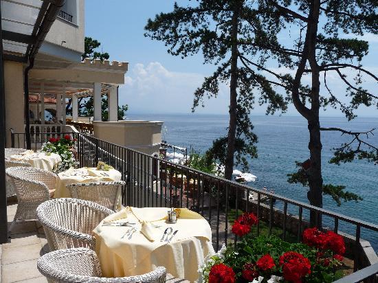 Hotel Miramar: Terrace