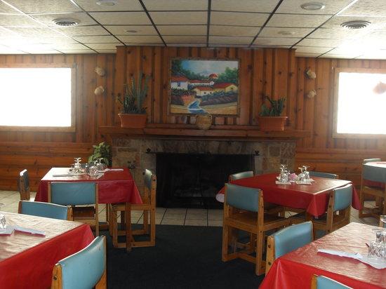 La Carreta Mexican Restaurant:                   Fire Place