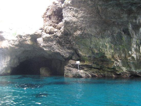 Levanzo, Italie : grotte di marettimo