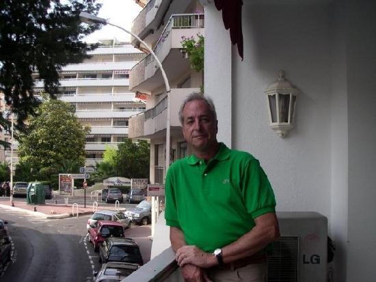 Hotel Le Fouquet's: terrace