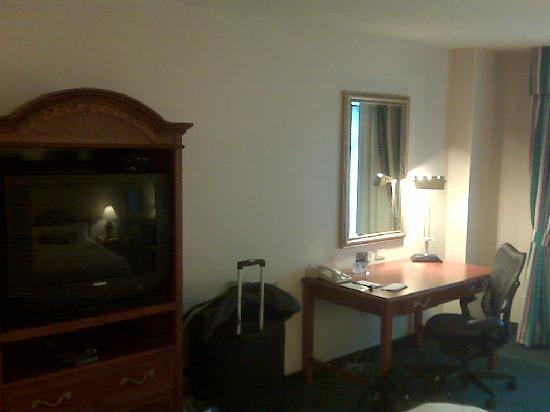Hilton Garden Inn Hartford South/Glastonbury: TV and desk